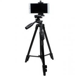 YUNTENG VCT 5208 ขาตั้งกล้อง 3ขา ทรงสูง แข็งแรง ทนทาน (พร้อม Remote Shutter)