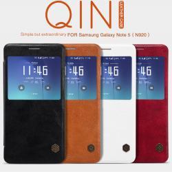 Samsung Note5 - เคสฝาพับ หนัง Nillkin QIN Leather Case แท้