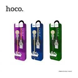 HOCO U25 สายชาร์จ Armor Zinc Alloy Cable (USB Type-C / Android) แท้