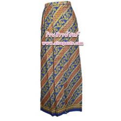 """ผ้าถุงป้ายเชิงหน้านาง อินโดนีเซีย/ภาคใต้-A1 เอวใส่ได้ถึง 32"""" (*ตามรายละเอียดสินค้าในหน้าฯ))"""