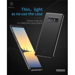 Samsung Note8 - เคสขุ่นสุดบาง ผิวด้าน BASEUS Wing Case แท้