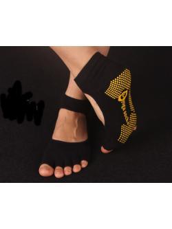 ถุงเท้าโยคะ สีดา รุ่นเปิดนิ้ว เปิดหลังเท้า