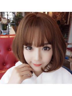 Wig ผมบ๊อบเท ชิคๆ สไตล์สาวเกาหลี รุ่น Clio งานคุณภาพเกาหลี