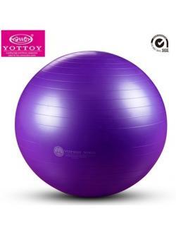 หุ่นเฟิร์ม เป็นคนใหม่ด้วยลูกบอลโยคะ (Fitness Ball) ขนาด 65cm สีม่วง