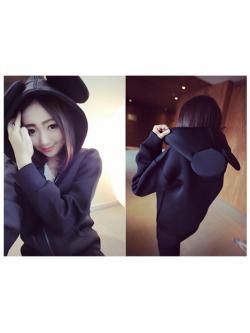 เสื้อกันหนาว หูมิกกี้ สุดน่ารักจากเกาหลี