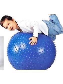 ลูกบอลโยคะนวดกาย บริหารกาย 55cm สีน้ำเงิน