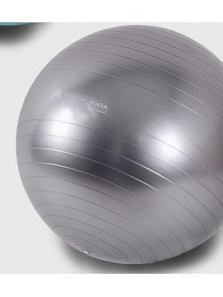 หุ่นเฟิร์ม เป็นคนใหม่ด้วยลูกบอลโยคะ (Fitness Ball) ขนาด 65cm สีเทา