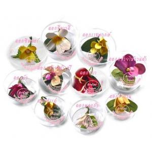 ช่อดอกไม้ประจำชาติ 10 ประเทศ (ทรงกลม) เดี่ยว-10 กล่อง/ประเทศ **สินค้าจำนวนจำกัด**