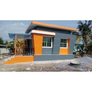 บ้านโมเดิร์นขนาด 6*5 เมตรพร้อมระเบียง2*3.5 เมตร ราคา 500,000 บาท