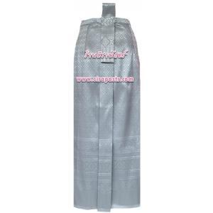 ผ้าถุงป้าย-หน้านาง NPA-3 สีเทา-เงิน (เอวใส่ได้ถึง 27 นิ้ว) *แบบสำเร็จรูป-รายละเอียดตามหน้าสินค้า