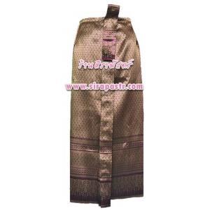 ผ้าถุงป้าย-หน้านาง BN-2 (เอวใส่ได้ถึง 32 นิ้ว) สีชมพู-ม่วง *แบบสำเร็จรูป-รายละเอียดตามหน้าสินค้า