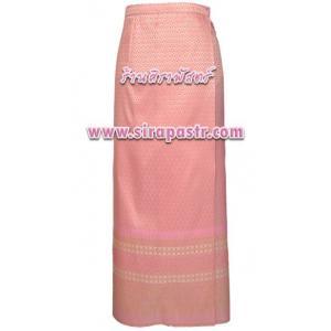 ผ้าถุงป้ายข้าง สีชมพูโอรส TC1 (เอวใส่ได้ถึง 32/36 นิ้ว) *รายละเอียดสินค้าในหน้าฯ