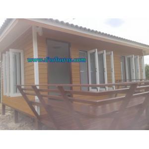 บ้านโมบายขนาด 4*6 ระเบยีง 2*3 เมตร ราคา 280,000 บาท