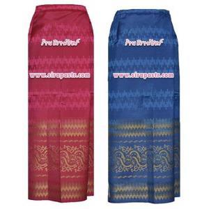 """ผ้าถุง-พม่า A5 (เอวใส่ได้ถึง 37"""") *ตรวจสอบรายละเอียดในภาพ"""