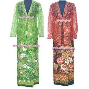 """ตัวอย่าง ชุดมาเลเซีย/ภาคใต้ 4-2A (ผ้าถุงฯเอวใส่ได้ถึง 37"""" ตามรายละเอียดสินค้าในหน้าฯ)"""