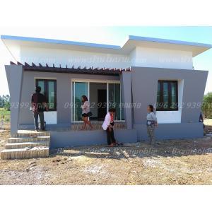 บ้านโมเดิร์นขนาด 8*7.5 ระเบียง 1.5*5 เมตร ราคา 820,000 บาท