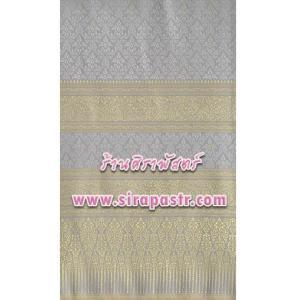 ผ้าลายไทย-K1 สีเทา *เลือกขนาด / รายละเอียดในหน้าสินค้า