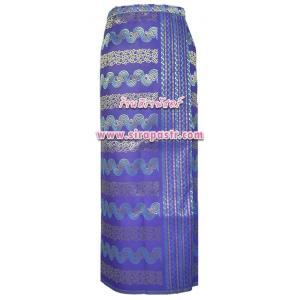 """ผ้าถุงป้ายฯ-พม่า B1 สีม่วง (เอวใส่ได้ถึง 36"""") *รายละเอียดตามหน้าสินค้า"""