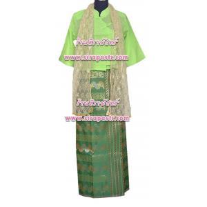 ชุดพม่า A-1 สีเขียว (*รายละเอียดในหน้าสินค้า)
