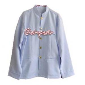 เสื้อราชปะแตน สีขาว (สินค้ามีเฉพาะ size L / XL *ตรวจสอบขนาดในหน้าสินค้า)