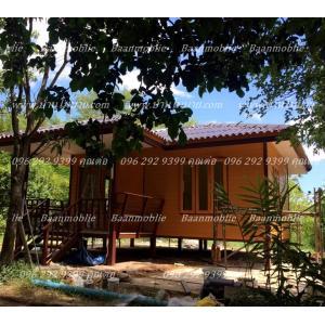 บ้านโมบาย 8*6 เมตร ราคา 420,000 บาท