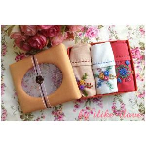 กล่องผ้าเช็ดมือผ้าฝ้าย