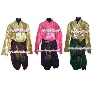 ตัวอย่างชุดไทย-ชาย B2-T1 (ผ้าโจงฯ แบบนุ่งเอง / *รายละเอียดในหน้าสินค้า)