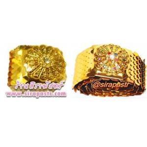 เข็มขัดทองยืด (กว้าง 2 นิ้ว ยืดได้ถึง 32 นิ้ว) *เลือกแบบ / รายละเอียดตามหน้าสินค้า