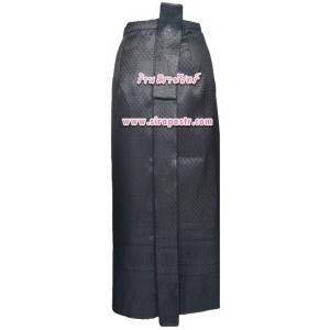 ผ้าถุงป้าย-หน้านาง A1 สีดำ (เอวใส่ได้ถึง 35 นิ้ว) *แบบสำเร็จรูป-รายละเอียดในหน้าสินค้า (สินค้าลดราคา)