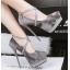 รองเท้าส้นสูง ไซต์ 34-39 สีดำ/แดง/เทา/น้ำตาล thumbnail 2