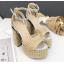 รองเท้าส้นสูง ไซต์ 34-39 สีทอง/เงิน thumbnail 5