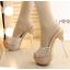รองเท้าส้นสูงไซต์ 35-39 สีเงิน สีทอง thumbnail 5