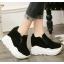 รองเท้าผ้าใบเสริมส้นสีน้ำตาล/ดำ/เขียว ไซต์ 35-39 thumbnail 7