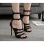 รองเท้าส้นสูงดีไซน์โบว์เล็กๆติดสายสีดำ ไซต์ 35-40 thumbnail 1
