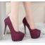 รองเท้าส้นส้นสูงคัดชูสีแดง/ดำ/เงิน/ทอง/เทา ไซต์ 34-39 thumbnail 2