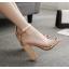 รองเท้าส้นสูง สีทอง/ดำ ไซต์ 35-40 thumbnail 5