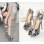 รองเท้าส้นสูงลายหนังงู ไซต์ 35-40 thumbnail 3