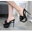 รองเท้าส้นสูงสีครีม/ดำ ไซต์ 34-40 thumbnail 2