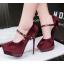 รองเท้าส้นสูง ไซต์ 34-39 สีดำ/แดง/เทา/น้ำตาล thumbnail 3