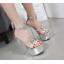 รองเท้าส้นสูงสีเงิน/ดำ ไซต์ 34-40 thumbnail 5