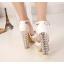 รองเท้าส้นสูง ไซต์ 34-39 สีเงิน สีทอง สีขาว thumbnail 6