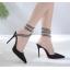 รองเท้าส้นสูงปลายแหลมสายพันรอบขา ไซต์ 35-40 thumbnail 2