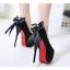 รองเท้าส้นสูง ไซต์ 34-38 สีดำ/น้ำตาล thumbnail 5