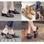 รองเท้าส้นสูง ไซต์ 35-39 มี 2 รุ่น ดำ/ครีม และ ดำ/เขียว thumbnail 1