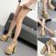 รองเท้าส้นสูง ไซต์ 34-39 สีทอง/เงิน thumbnail 1