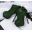 รองเท้าส้นสูง ไซต์ 34-39 สีดำ สีแดง สีเขียว สีชมพู สีเทา สีน้ำตาล thumbnail 13