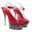 รองเท้าส้นสูงดีไซน์ส้นสวยหรูสีแดง/ดำ/ขาว ไซต์ 34-40 thumbnail 10