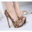 รองเท้าส้นสูงสีน้ำตาล ไซต์ 34-40 thumbnail 1