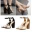 รองเท้าส้นสูง สีทอง/ดำ ไซต์ 35-40 thumbnail 1