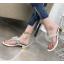 รองเท้าคีบติดผีเสื้อสีดำ/เงิน ไซต์ 35-39 thumbnail 5